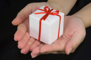 giving a gift of forgiveness
