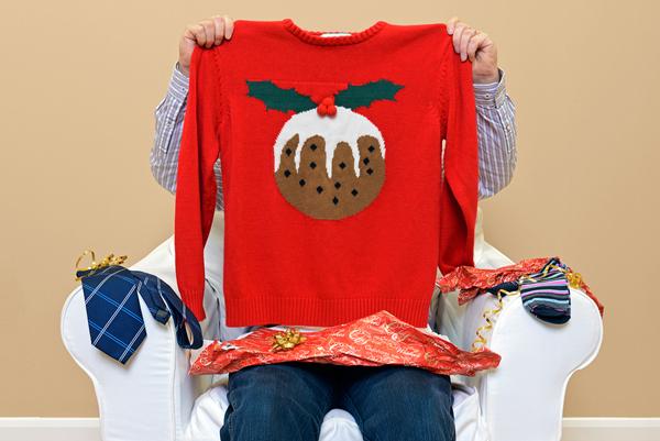 Ugly Christmas sweater fun