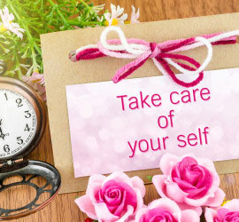 words take care of youself show self love idea